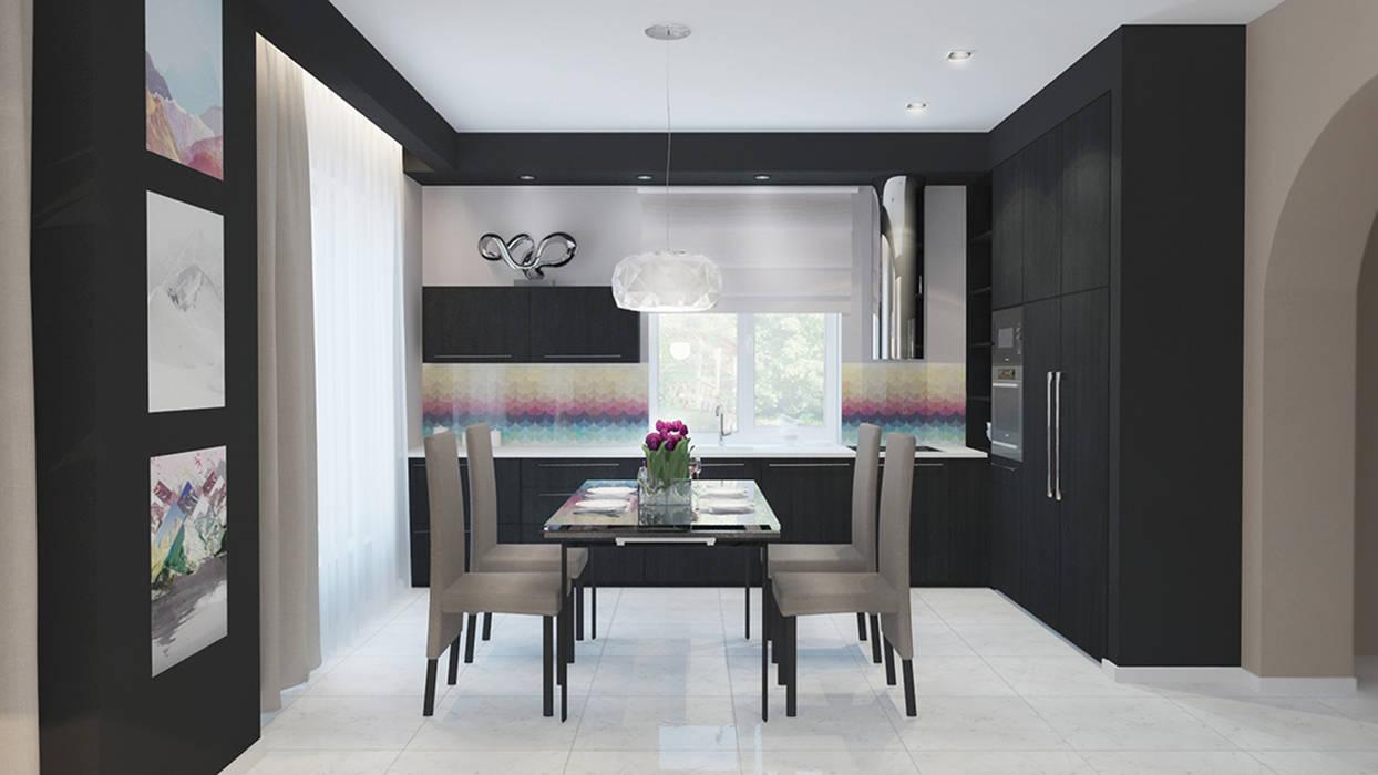 кухня: Кухни в . Автор – Архитектурная мастерская 'SOWA', Минимализм