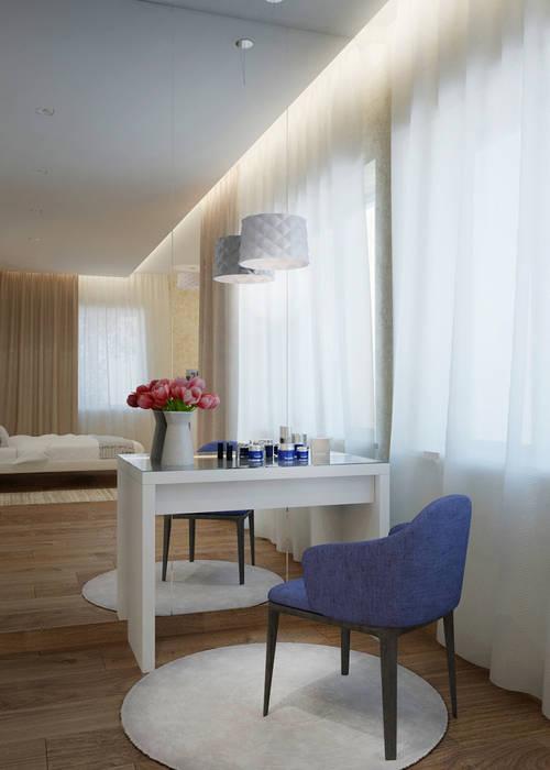 Quartos minimalistas por Архитектурная мастерская 'SOWA' Minimalista