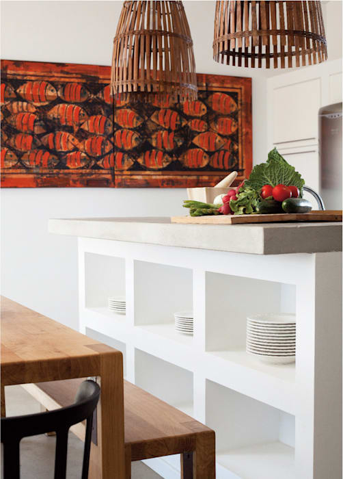 Nhà bếp theo LAVRADIO DESIGN, Mộc mạc