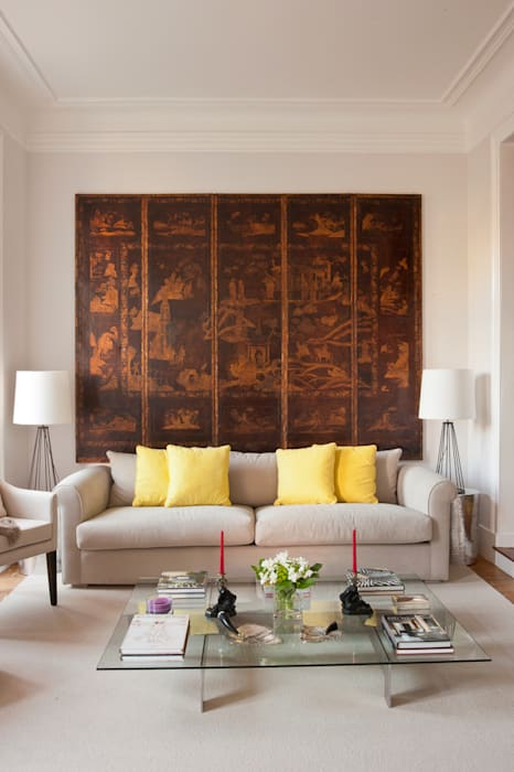 Pormenor Sala: Salas de estar  por LAVRADIO DESIGN