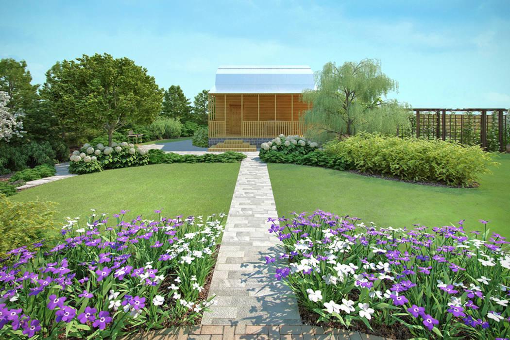 Garten im Landhausstil von Руслан Михайлов rmgarden Landhaus