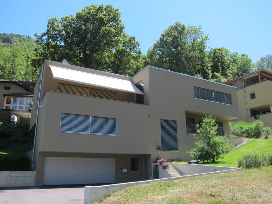 bw1 architekten Modern balcony, veranda & terrace