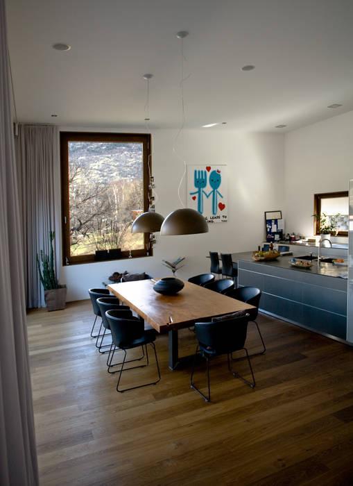 bw1 architekten Modern kitchen