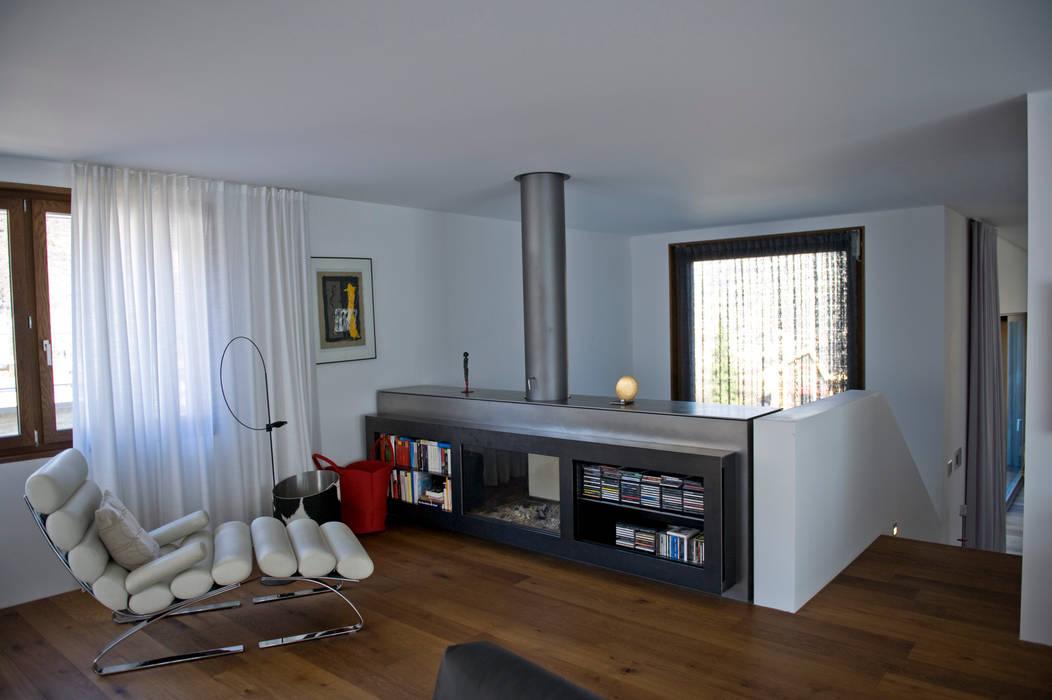 bw1 architekten Modern living room