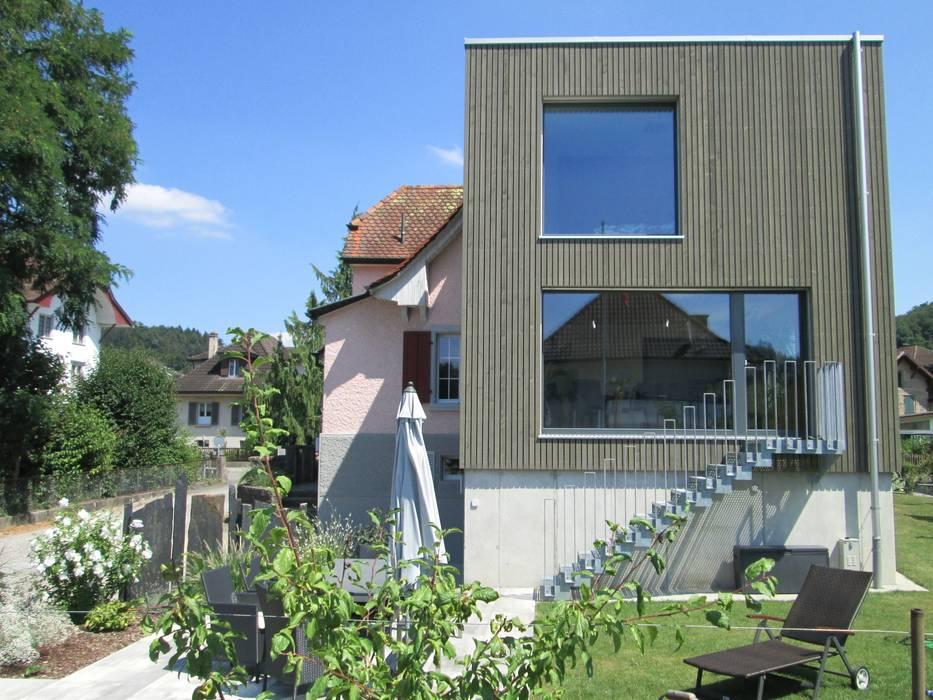 Anbau Wohnhaus Moderne Häuser von Brauen & Partner Architektur GmbH Modern Holz Holznachbildung
