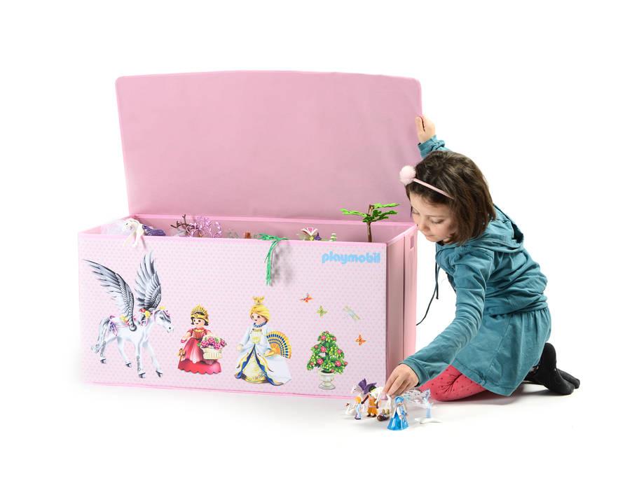 Coffre à jouets playmobil princesses: chambre d\'enfants de style par ...