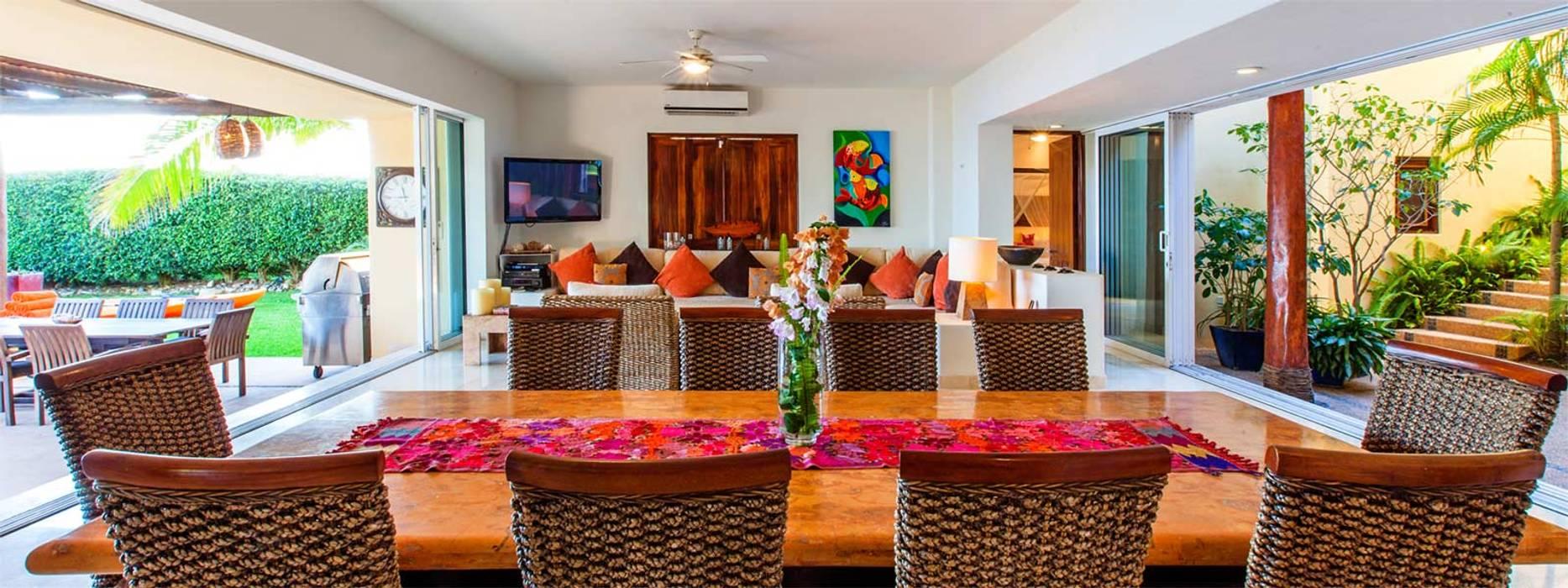 Casa Tortugas: Comedores de estilo  por BR  ARQUITECTOS