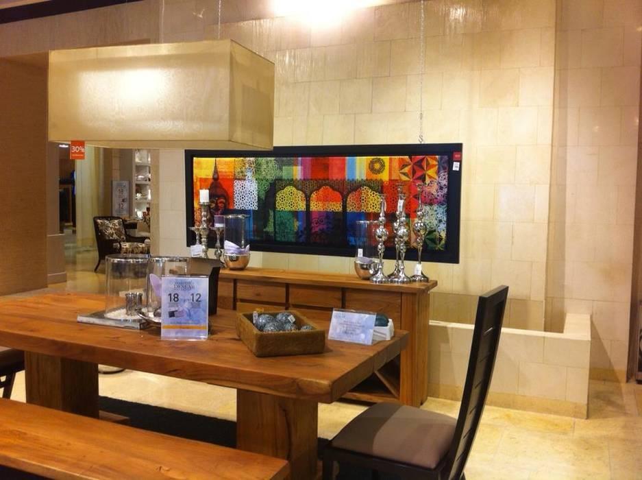 Hostal_12: Comedores de estilo moderno por 11:11 Arte Contemporaneo