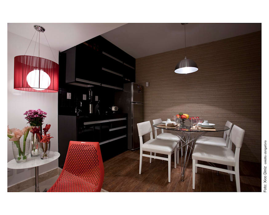 Cocinas de estilo  de Wesley Lemos Arquitetura & Design, Moderno