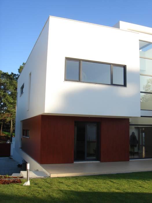 House Gui and Gus - Verdizela ASPMM, Arquitectos Casas modernas