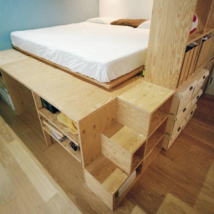Ausgefallene Schlafzimmer von AIDAHO Inc. Ausgefallen