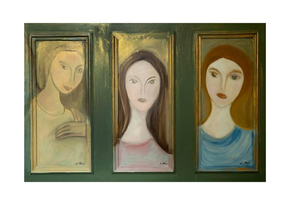Peintures de femmes: Salon de style  par Mme Christine Henri