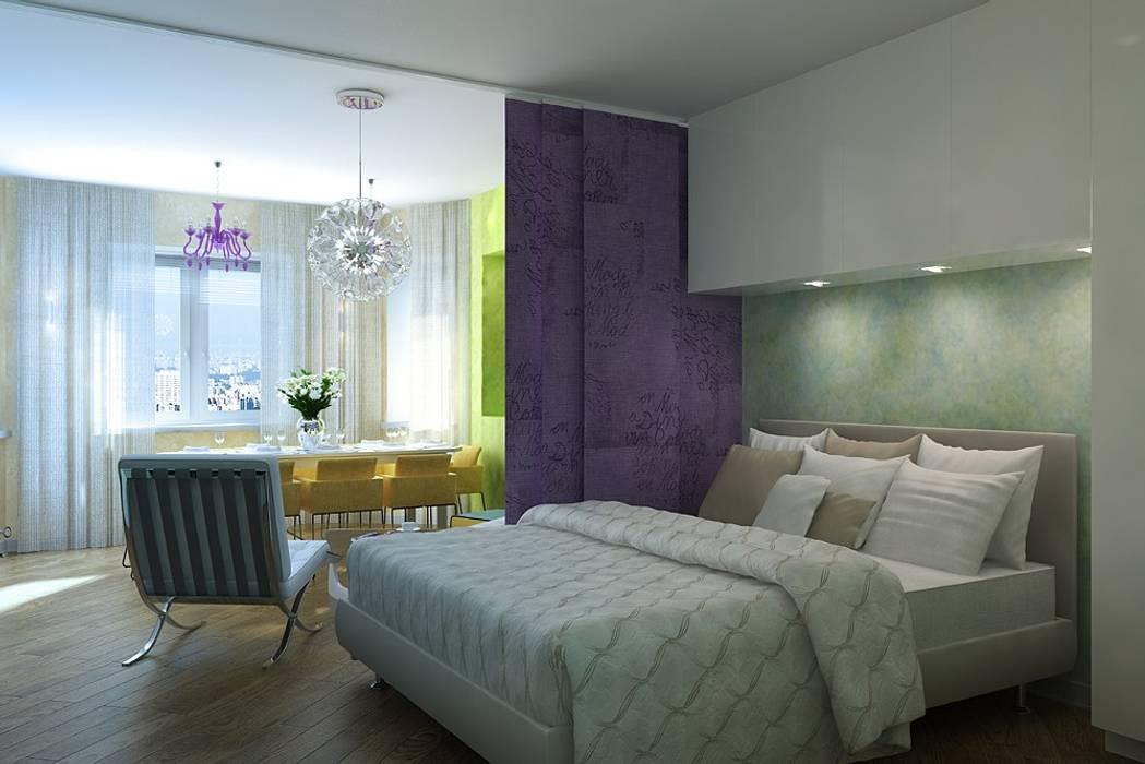 臥室 by Design studio of Stanislav Orekhov. ARCHITECTURE / INTERIOR DESIGN / VISUALIZATION.,