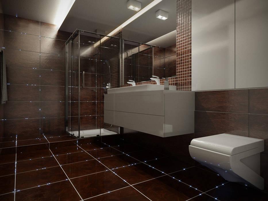 SOLED Projekty i Dekoracje Świetlne Jacek Solka BathroomLighting