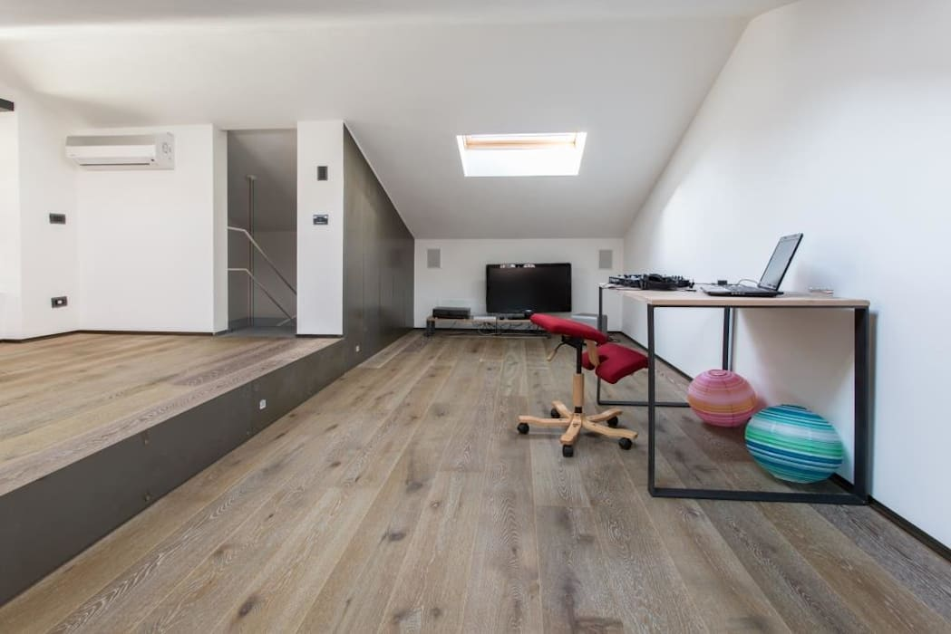 Giò&Marci km 429 architettura Sala multimediale moderna