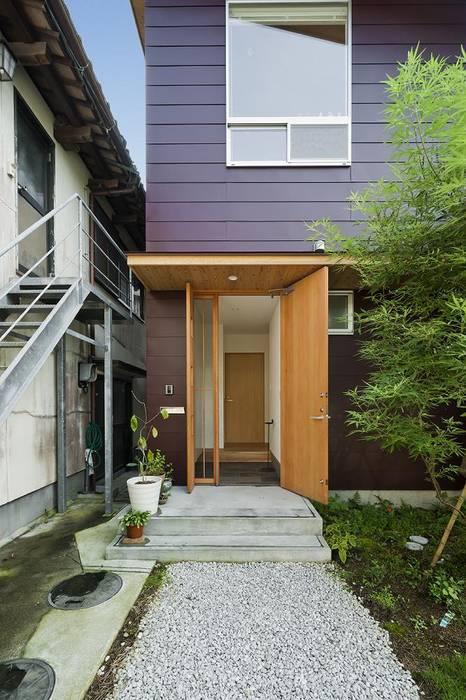facade Maisons originales par キリコ設計事務所 Éclectique