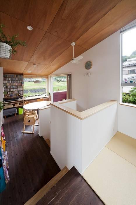 living Salon original par キリコ設計事務所 Éclectique