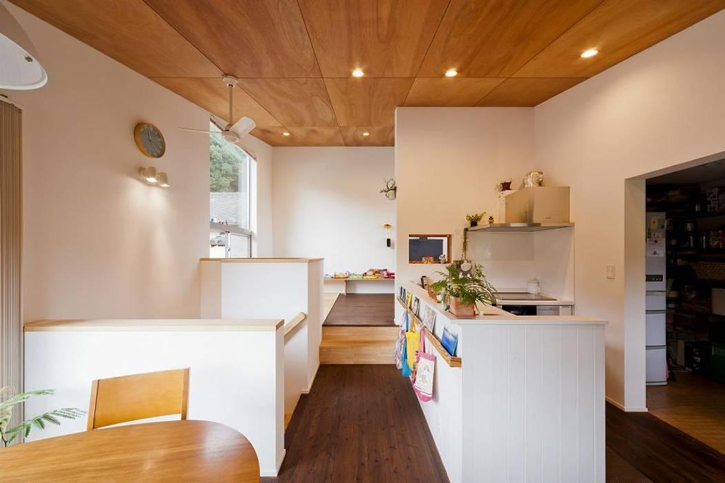 dining Salle à manger originale par キリコ設計事務所 Éclectique