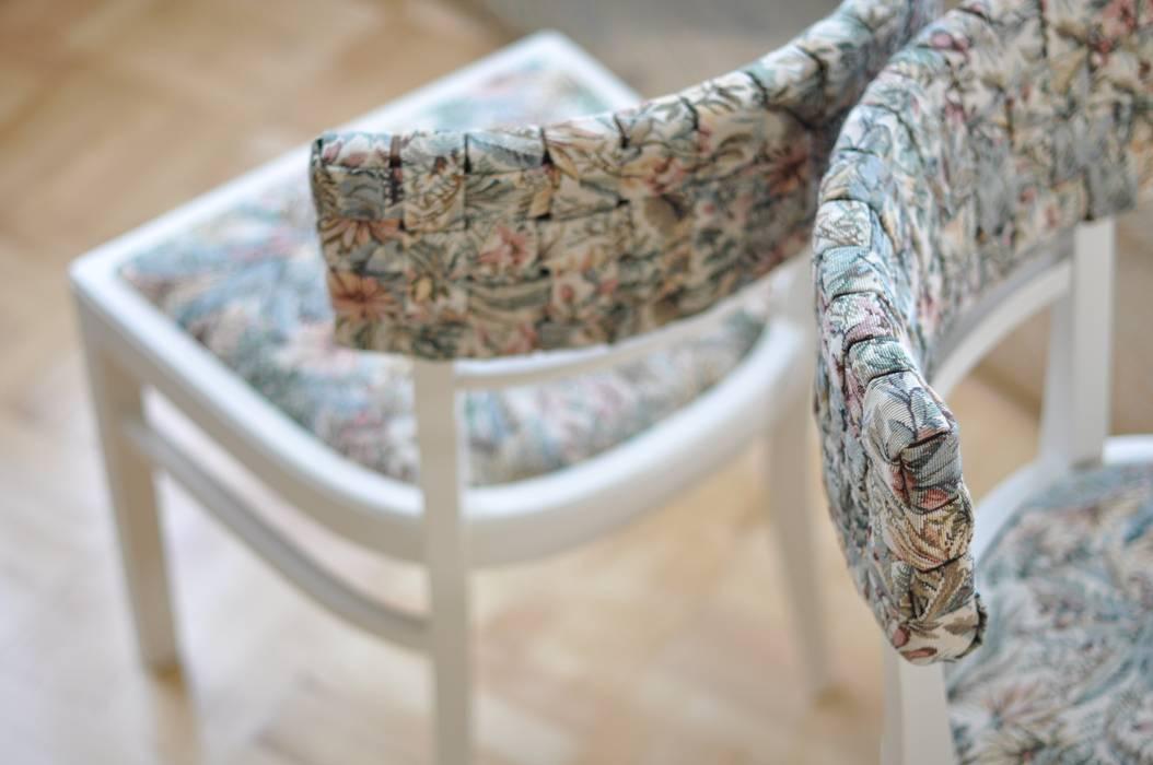 Hawaiian Musse krzesła od AFABLA Klasyczny Drewno O efekcie drewna