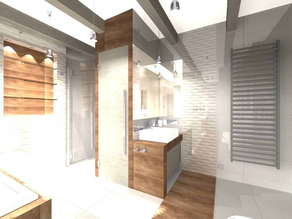 Modern style bathrooms by STUDIO BB ARCHITEKCI TOMASZ BRADECKI Modern