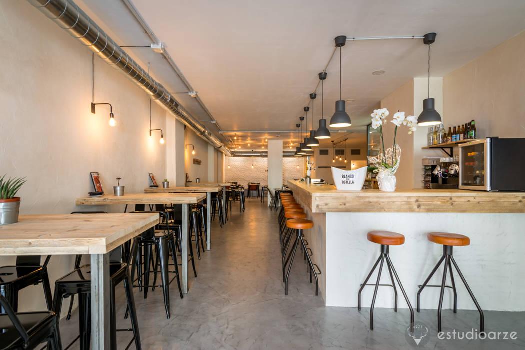 Restaurante Sudeste, Alicante Colectivo Arze Gastronomía de estilo industrial