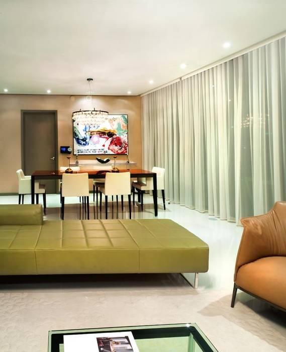 Ruang Keluarga Modern Oleh Elías Arquitectura Modern