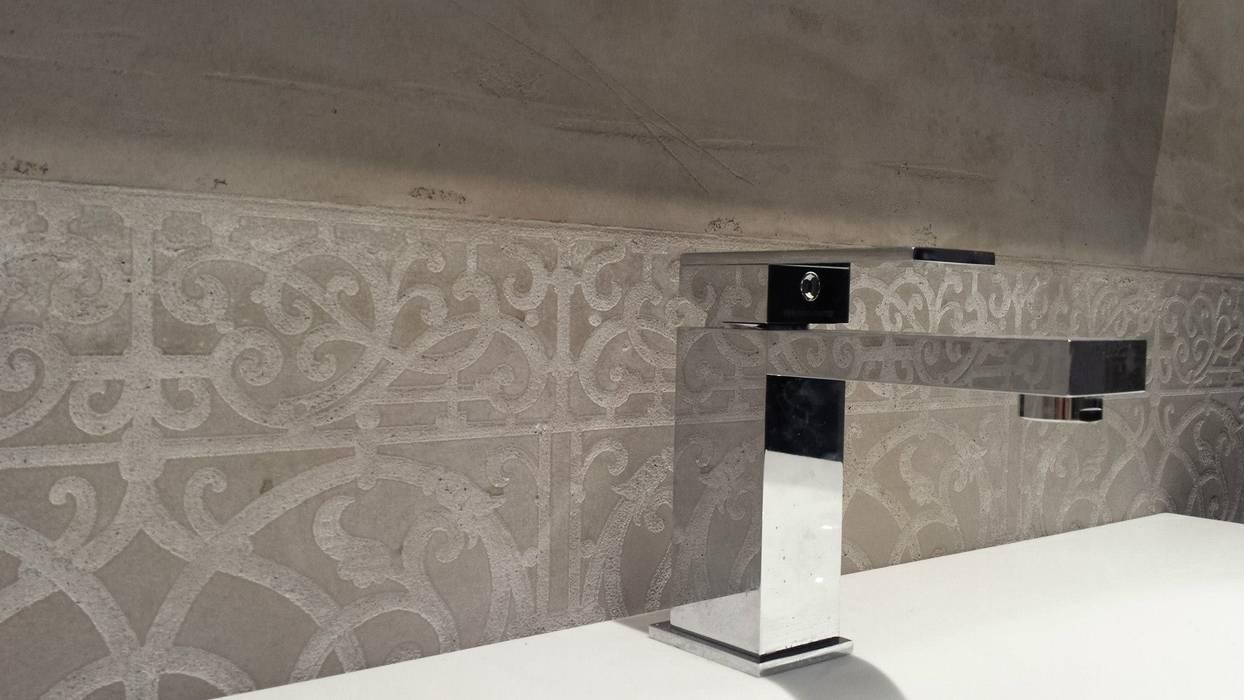 Spa und bäder fugenlose mieneralischer putz: mediterrane badezimmer ...
