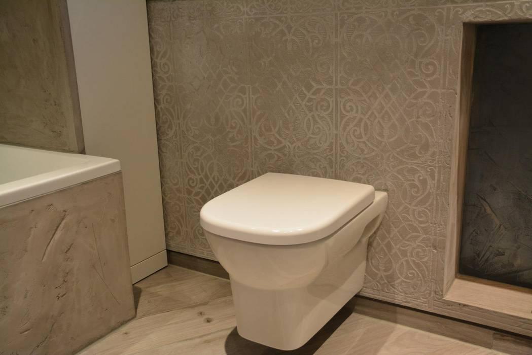 Spa und bäder fugenlose mieneralischer putz: badezimmer von ...