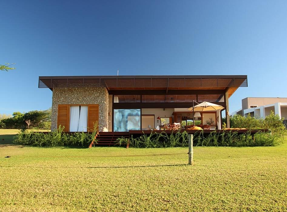 PROJETO CASA DA REPRESA Casas campestres por Ambienta Arquitetura Campestre
