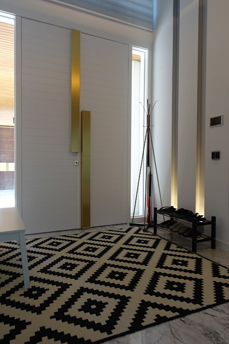 Modern Corridor, Hallway and Staircase by J.Design Modern