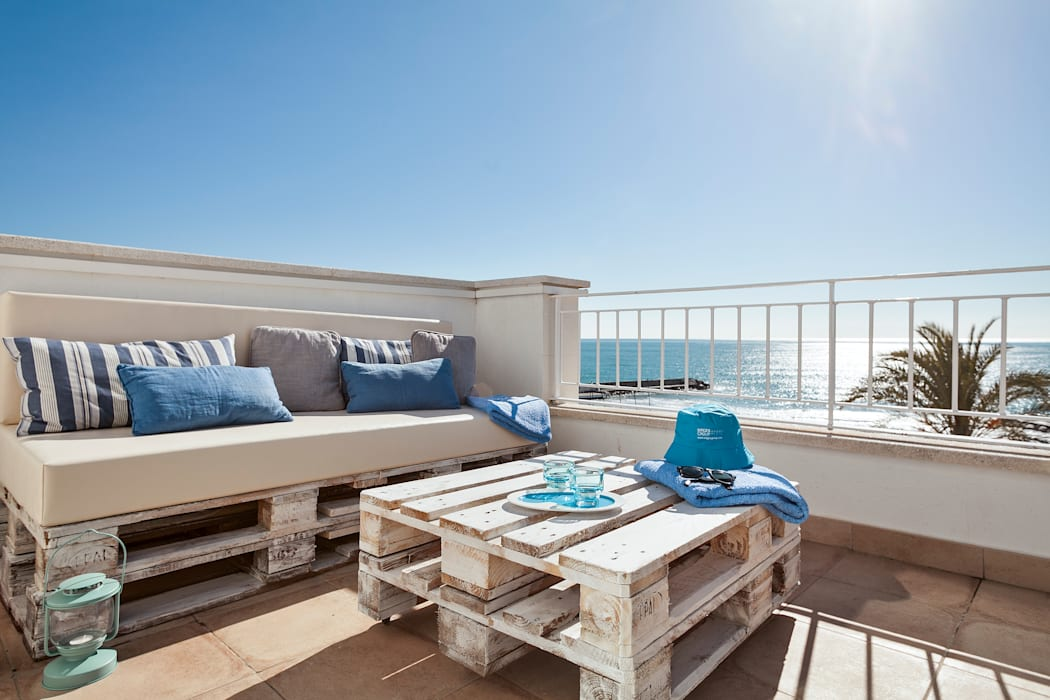 Balkon veranda & terras door home deco decoración homify