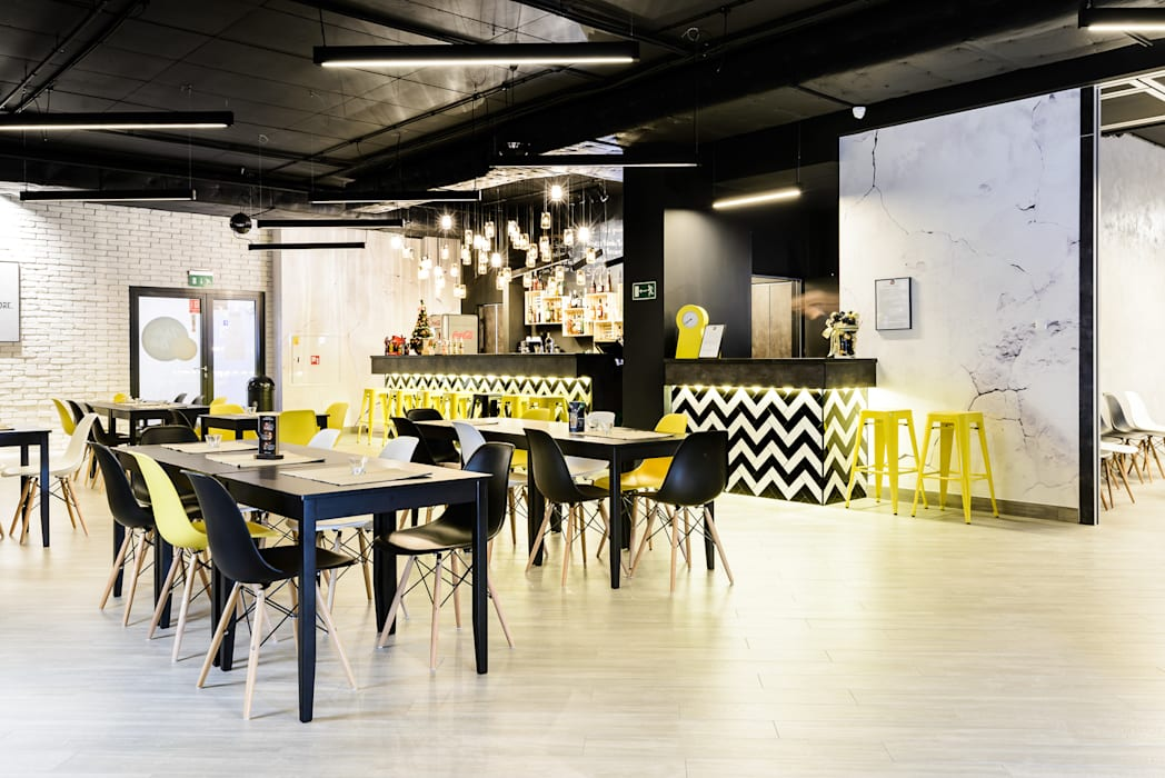Bar & Klub Gaya Industrial Oleh Q2Design Industrial