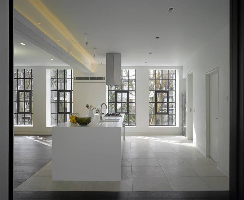 Brassworks:  Kitchen by Belsize Architects