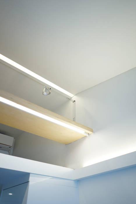 IDÉEAA _ 이데아키텍츠 现代客厅設計點子、靈感 & 圖片 MDF Grey