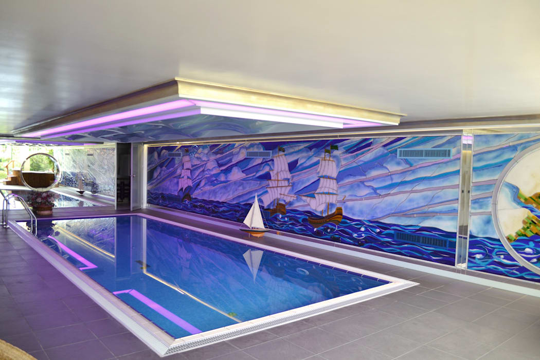 Moderne Pools von ARTISTIC DESIGN Modern