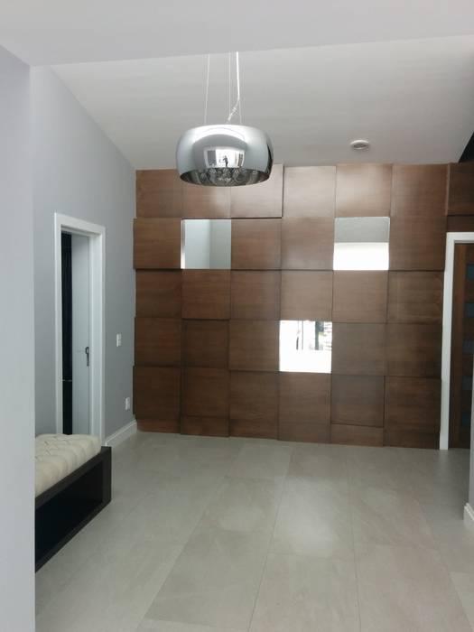 aaestudio Modern living room Solid Wood