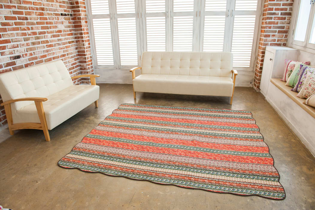쉬즈가 Walls & flooringCarpets & rugs Katun Orange
