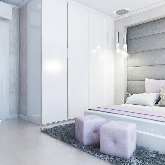 Classic style bedroom by Частный дизайнер и декоратор Девятайкина Софья Classic