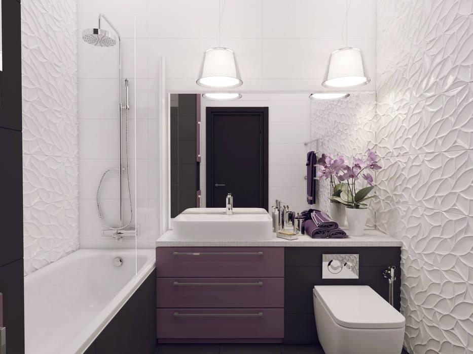 Volkovs studio Modern bathroom
