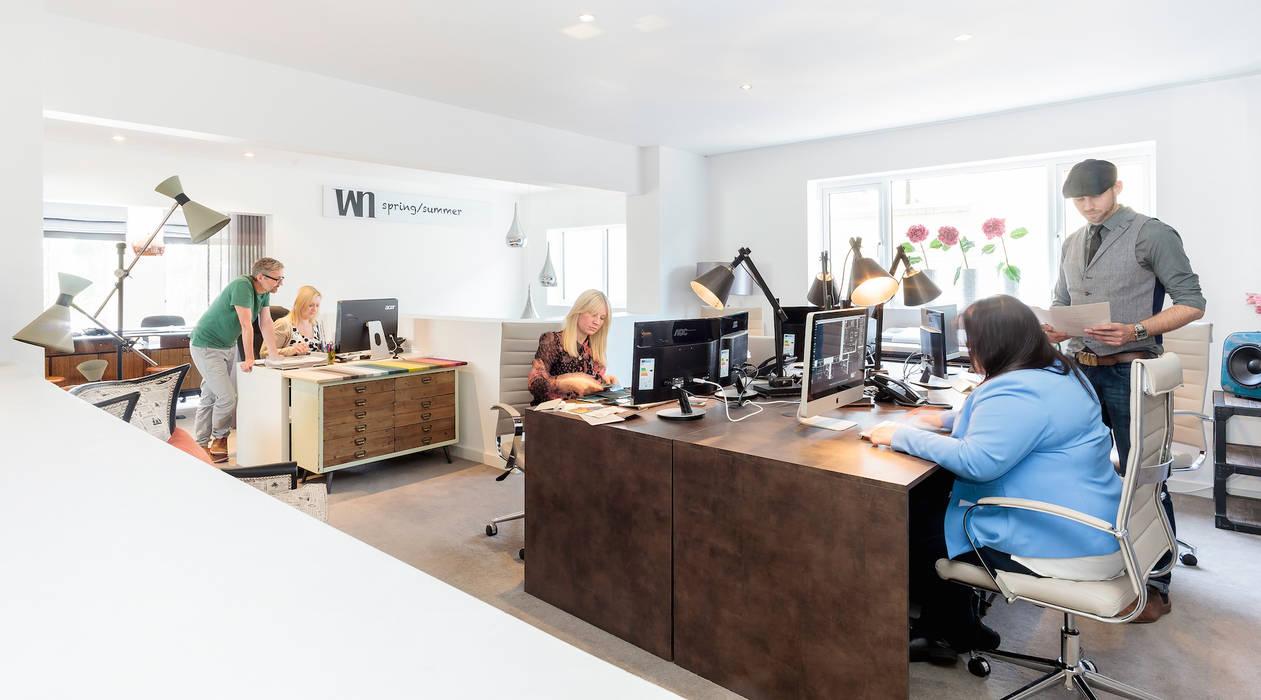 WN Interiors Design Studio Complesso d'uffici moderni di homify Moderno