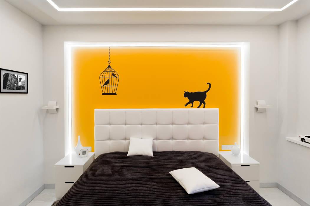 Квартира на улице Маршала Малиновского. Реализация: Спальни в . Автор – Rustem Urazmetov, Минимализм