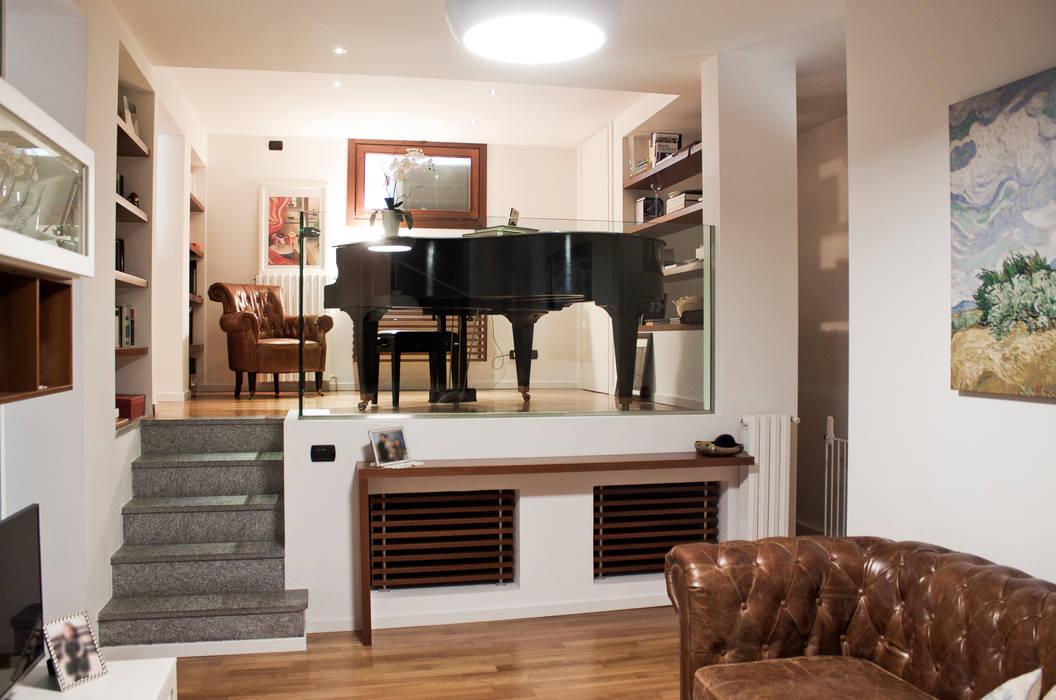 Relooking di un appartamento con soppalco laura lucente ...
