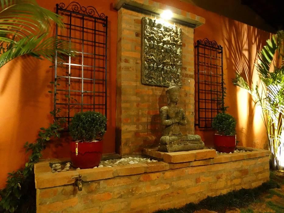 Jardines de estilo rústico de CAROLINA KLEEBERG Rústico