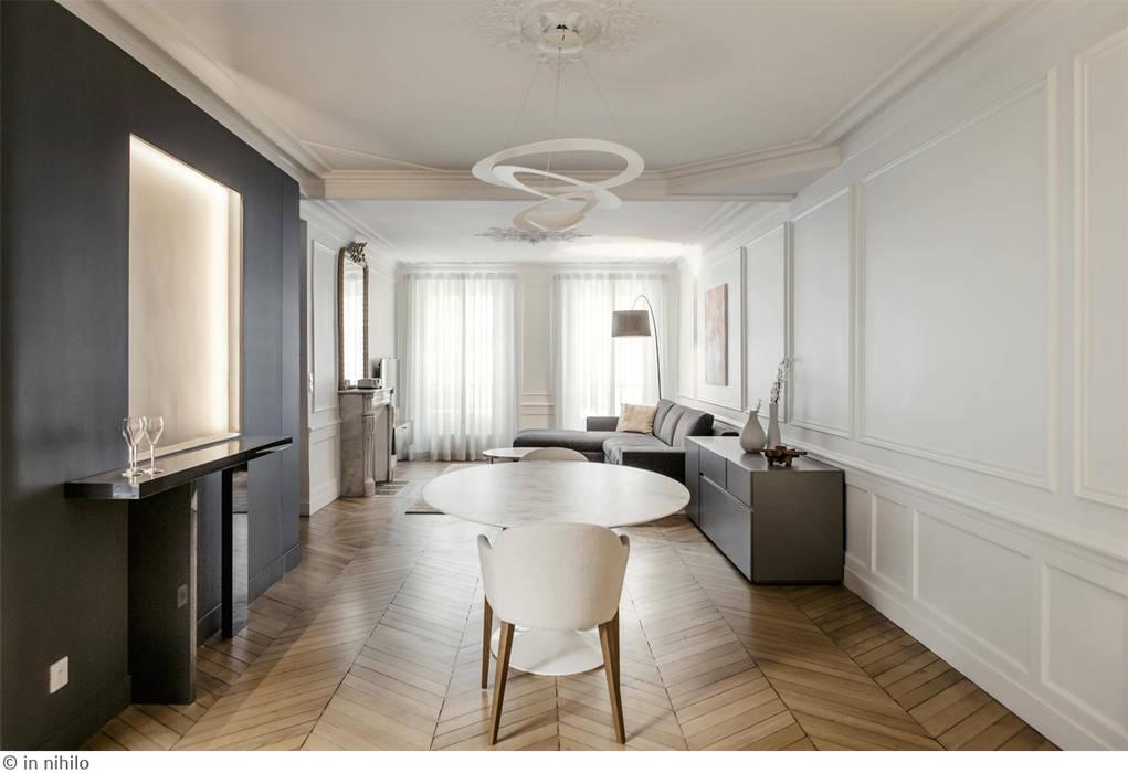 Espace partagé: Salon de style de style Minimaliste par claire Tassinari