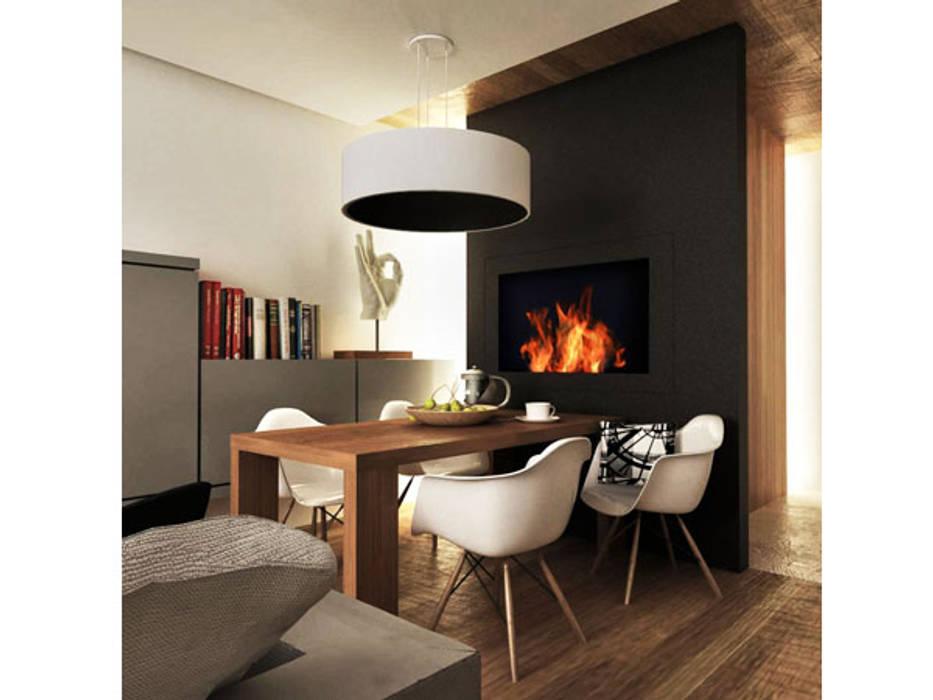 ARCHWOOD, дизайн-бюро Scandinavian style dining room Wood Black