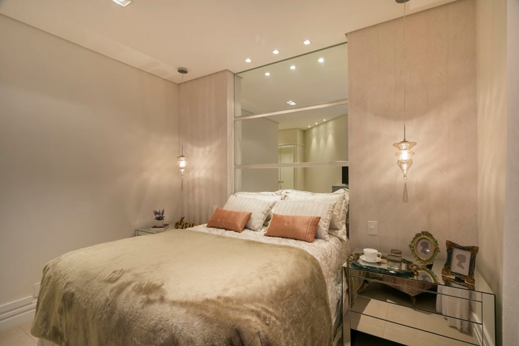 Bedroom by Cactus Arquitetura e Urbanismo,