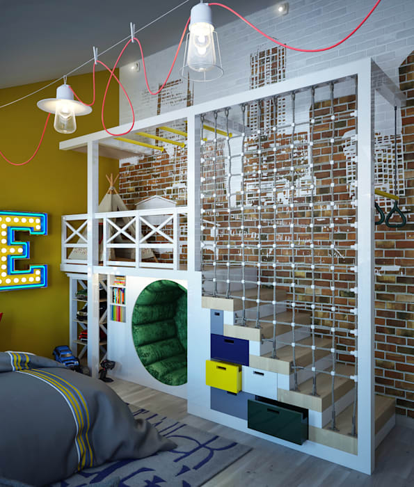 Nowoczesny pokój dziecięcy od Sweet Home Design Nowoczesny
