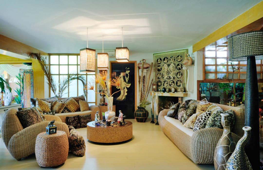 Excelencia en Diseño Asian style living room