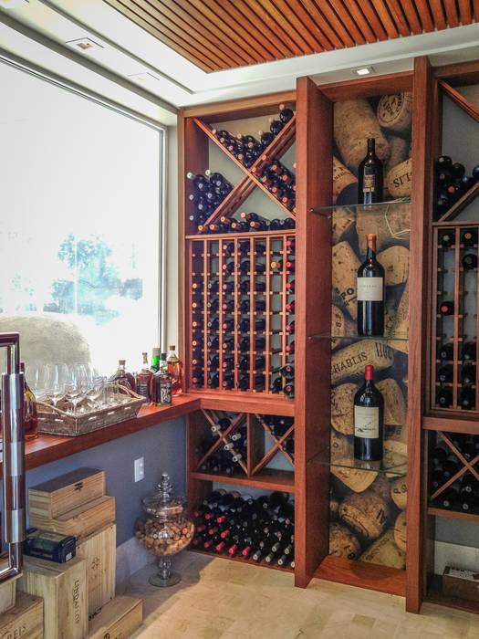 Juliana Stefanelli Arquitetura e Design Cave à vin classique