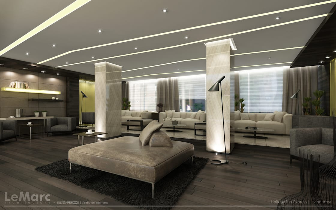 Meeting Area: Hoteles de estilo  por Estudio JP,Moderno